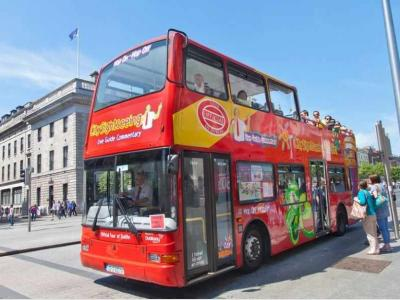 24hrs Hop on-off CitySightseeing Dublin 3 routes!