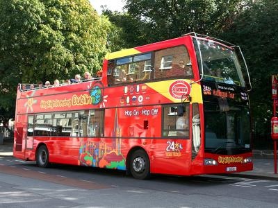 48hrs Hop on-off CitySightseeing Dublin 3 routes!