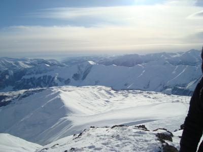 Full Day Skiing Tour to Gudauri resort from Tbilisi