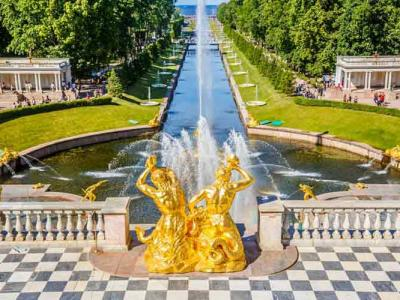 Pearls of St. Petersburg in 1 day - tour by car