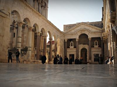 Historical Diocletian's palace walking tour