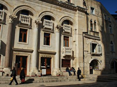 Diocletians's palace basic walking tour