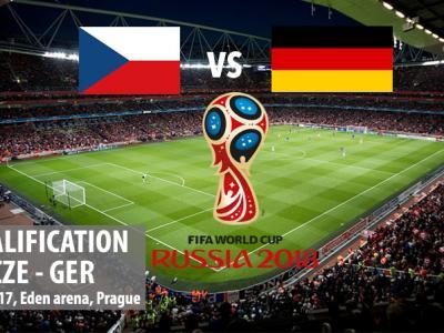 Czech Republic - Germany 01.09.2017 at 20:45 hours, Eden stadium Prague (football)