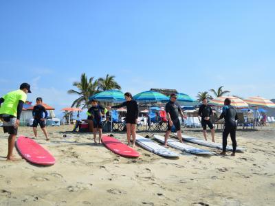 SURF LESSON AT CERRITOS  (WINTER)