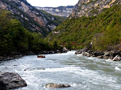 Rafting tours in Georgia