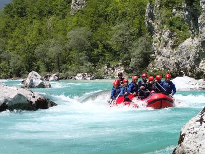 Whitewater Rafting Slovenia, River Soca